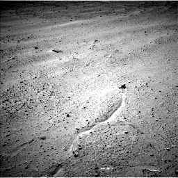 Nasa's Mars rover Curiosity acquired this image using its Left Navigation Camera on Sol 643, at drive 626, site number 33