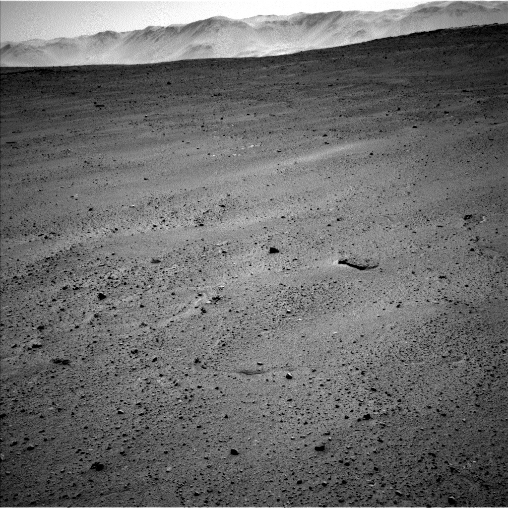 Nasa's Mars rover Curiosity acquired this image using its Left Navigation Camera on Sol 643, at drive 660, site number 33