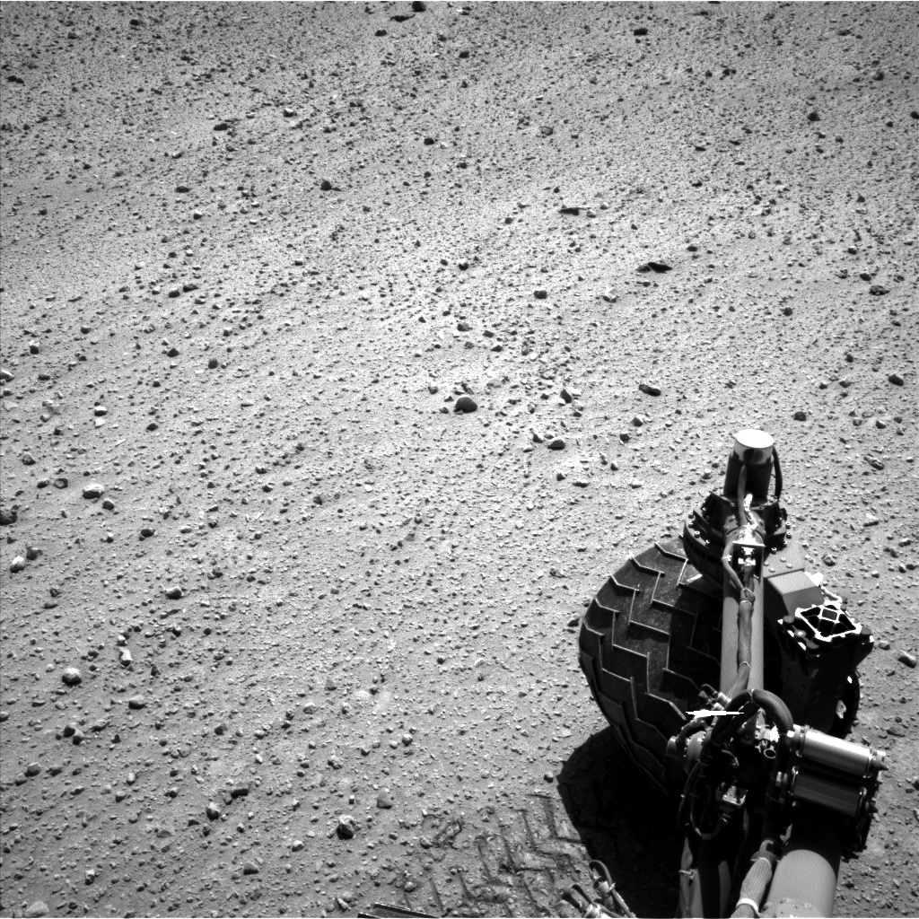Nasa's Mars rover Curiosity acquired this image using its Left Navigation Camera on Sol 644, at drive 1002, site number 33