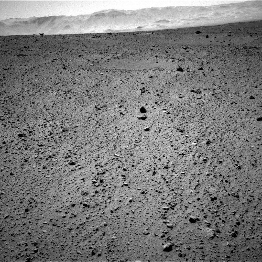 Nasa's Mars rover Curiosity acquired this image using its Left Navigation Camera on Sol 644, at drive 1036, site number 33