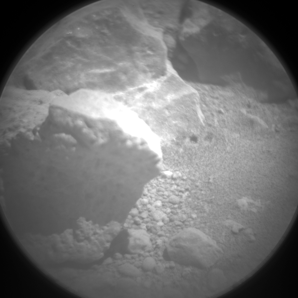 Nasa's Mars rover Curiosity acquired this image using its Chemistry & Camera (ChemCam) on Sol 645, at drive 1036, site number 33