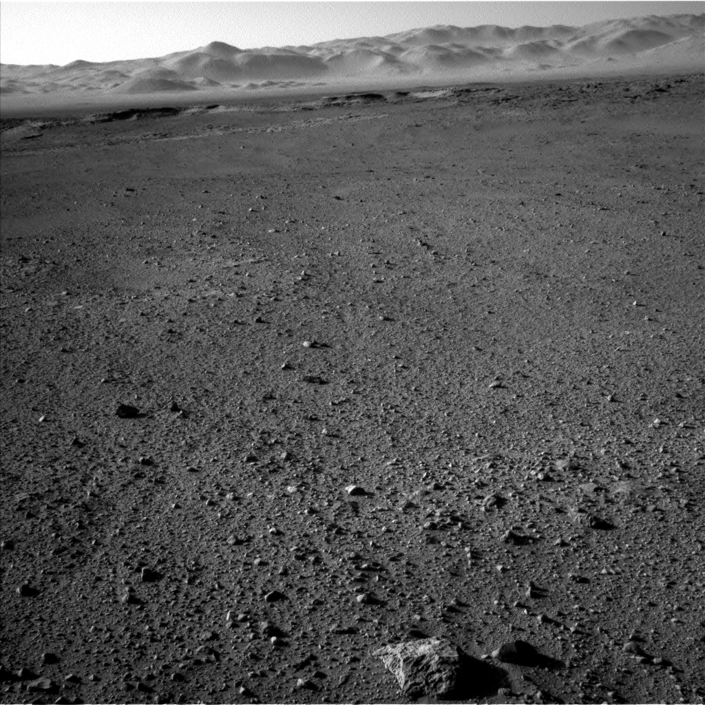 Nasa's Mars rover Curiosity acquired this image using its Left Navigation Camera on Sol 647, at drive 0, site number 34