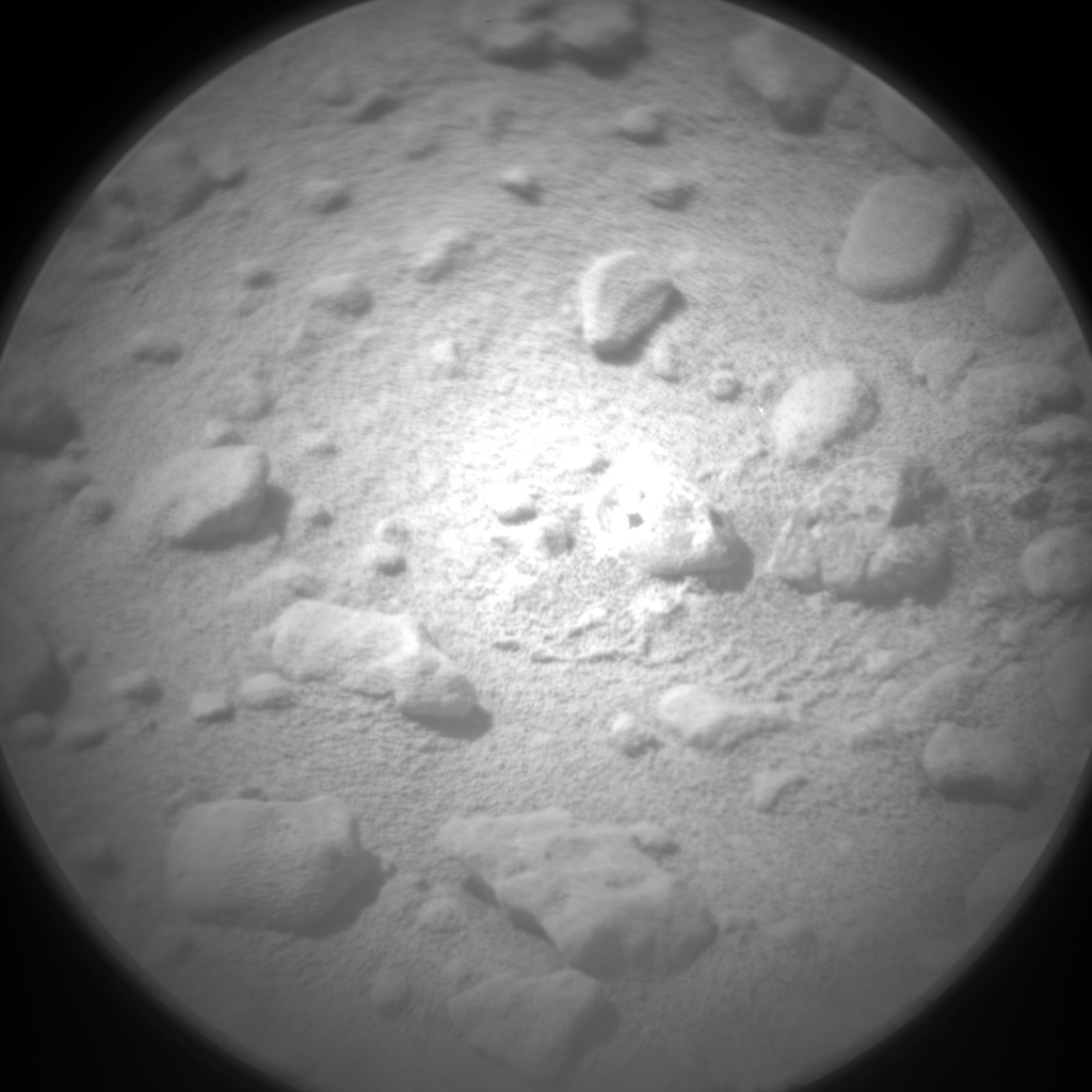 Nasa's Mars rover Curiosity acquired this image using its Chemistry & Camera (ChemCam) on Sol 648, at drive 0, site number 34