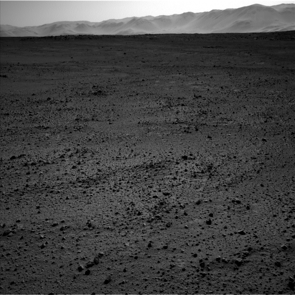 Nasa's Mars rover Curiosity acquired this image using its Left Navigation Camera on Sol 649, at drive 286, site number 34