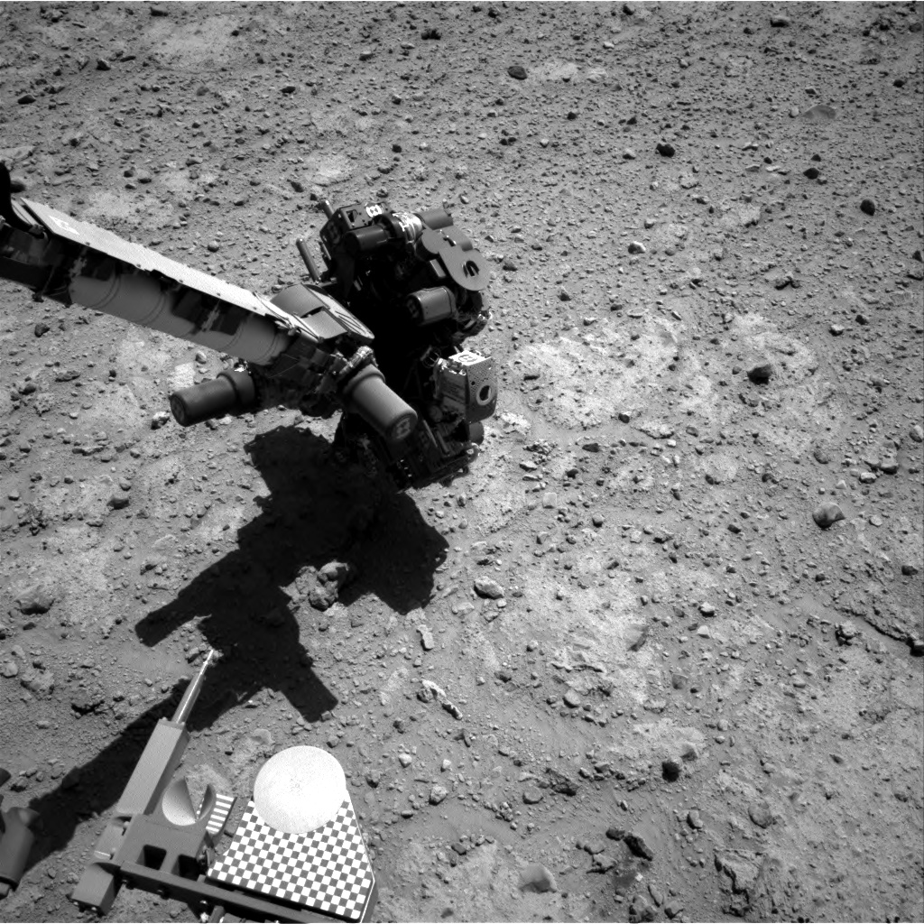 Nasa's Mars rover Curiosity acquired this image using its Right Navigation Camera on Sol 649, at drive 0, site number 34
