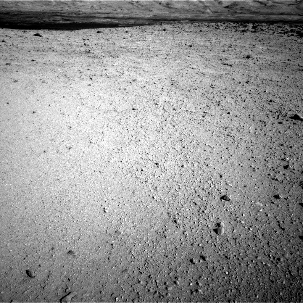 Nasa's Mars rover Curiosity acquired this image using its Left Navigation Camera on Sol 650, at drive 286, site number 34