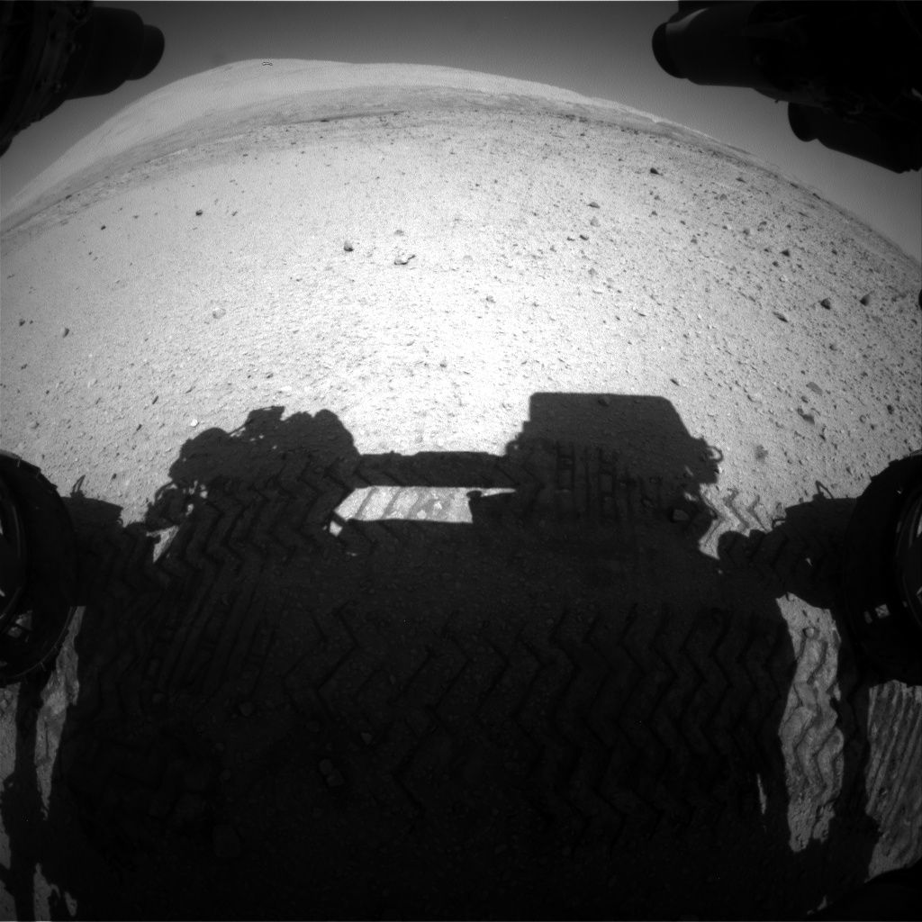 Nasa's Mars rover Curiosity acquired this image using its Front Hazard Avoidance Camera (Front Hazcam) on Sol 651, at drive 286, site number 34