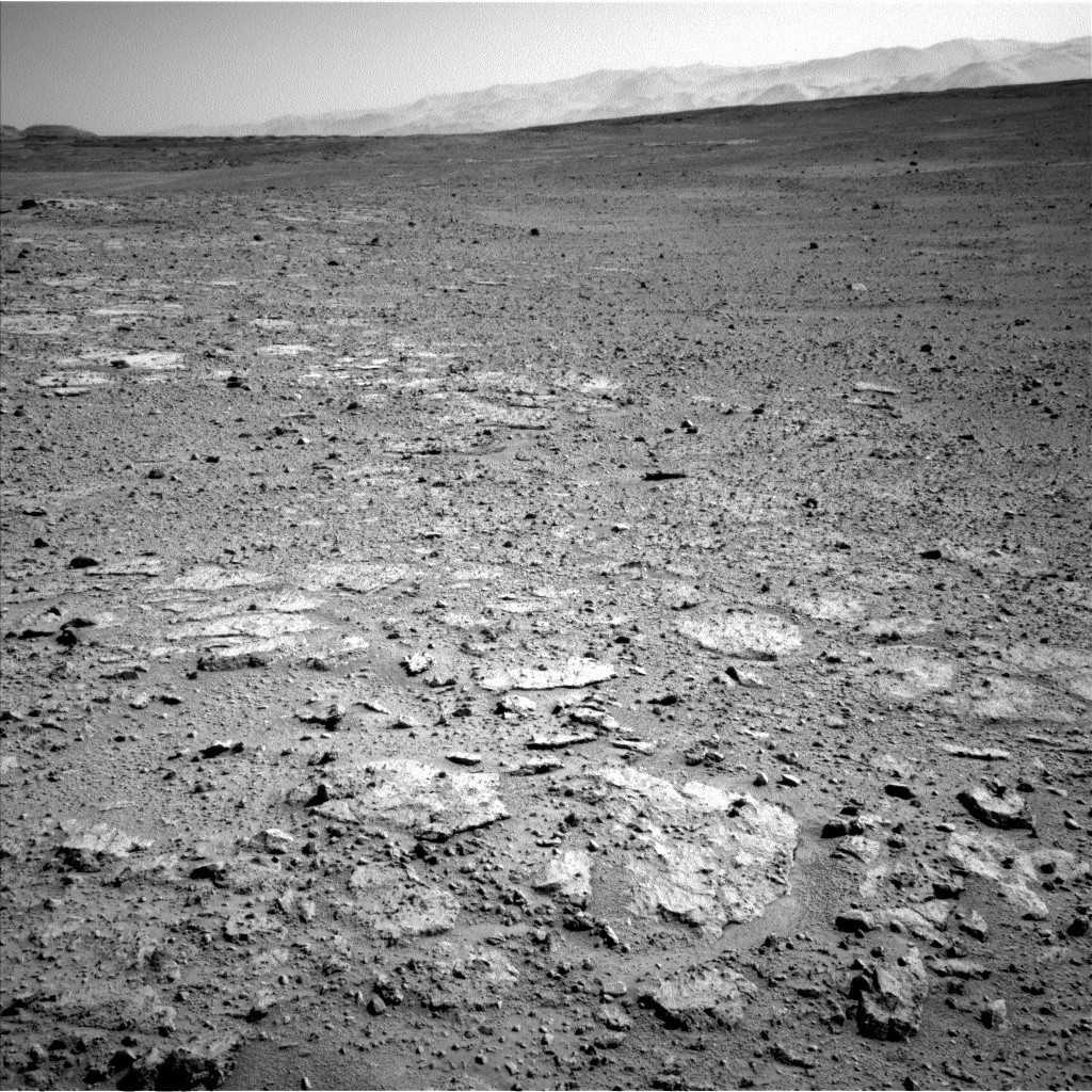 Nasa's Mars rover Curiosity acquired this image using its Left Navigation Camera on Sol 651, at drive 416, site number 34