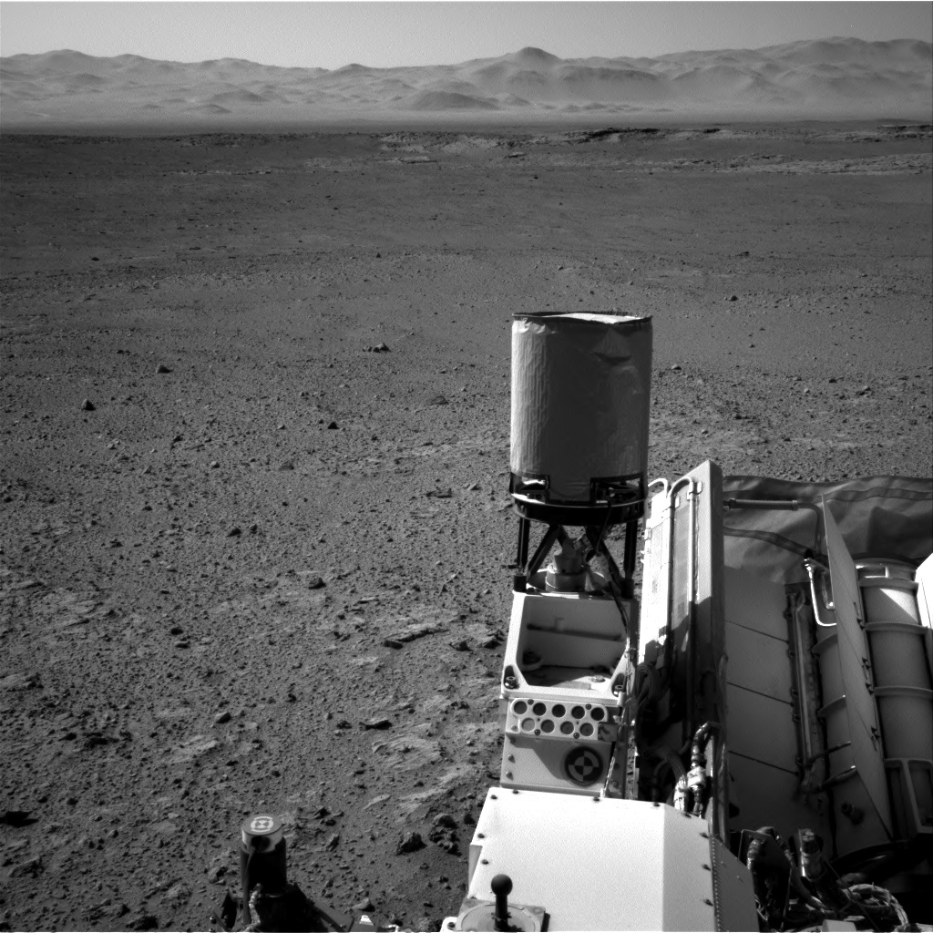 NASA's Mars rover Curiosity acquired this image using its Right Navigation Cameras (Navcams) on Sol 651