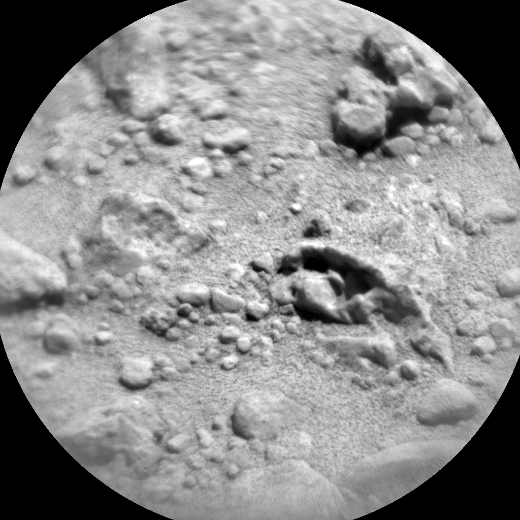 Nasa's Mars rover Curiosity acquired this image using its Chemistry & Camera (ChemCam) on Sol 652, at drive 416, site number 34
