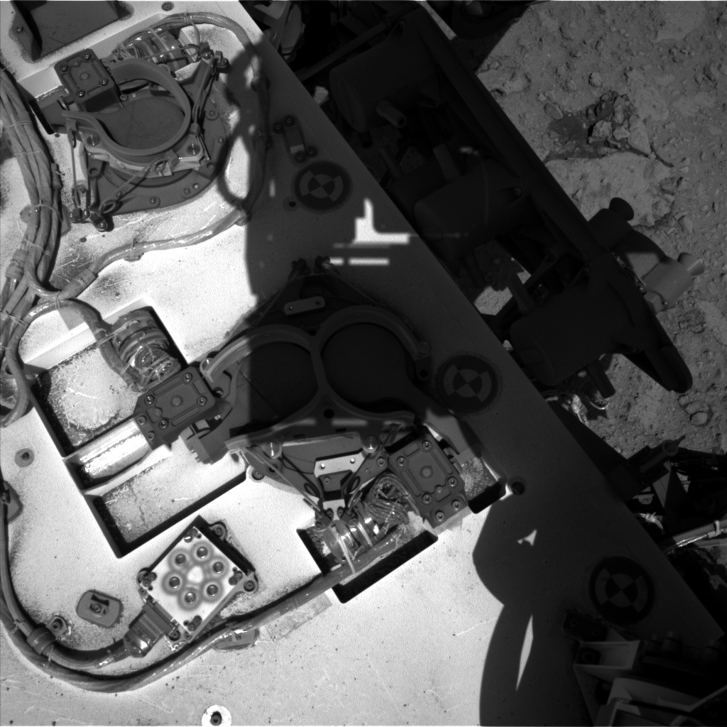 Nasa's Mars rover Curiosity acquired this image using its Left Navigation Camera on Sol 653, at drive 416, site number 34