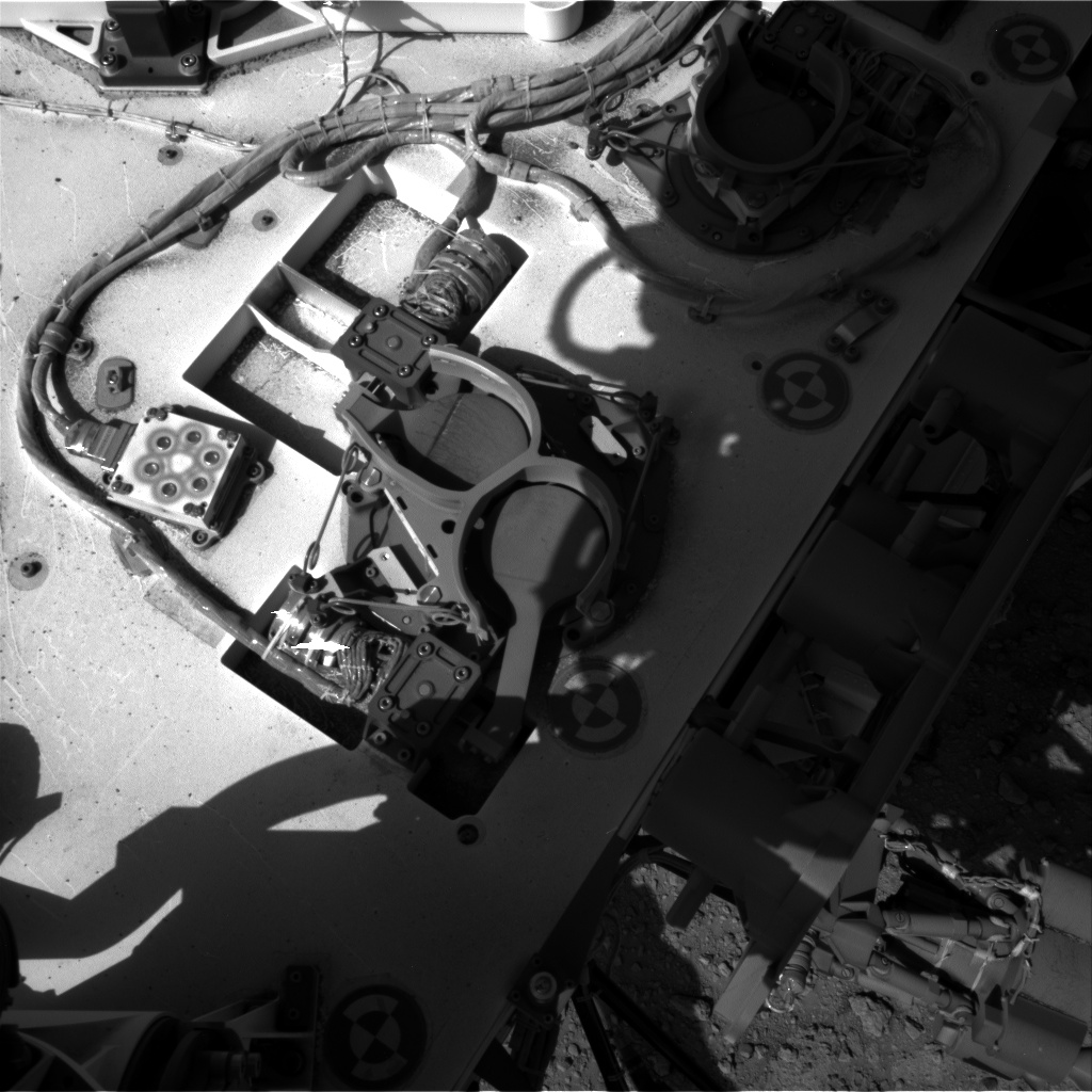 Nasa's Mars rover Curiosity acquired this image using its Right Navigation Camera on Sol 653, at drive 416, site number 34