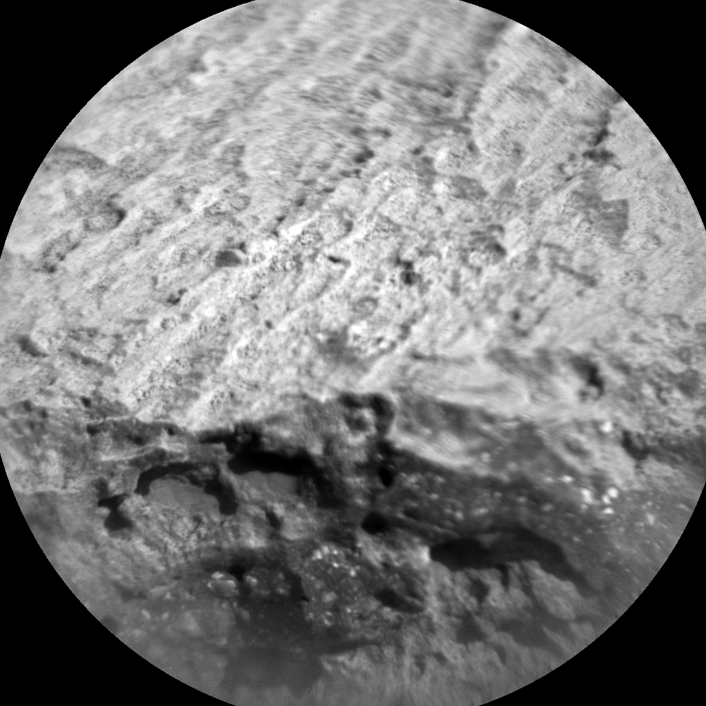 Nasa's Mars rover Curiosity acquired this image using its Chemistry & Camera (ChemCam) on Sol 654, at drive 416, site number 34