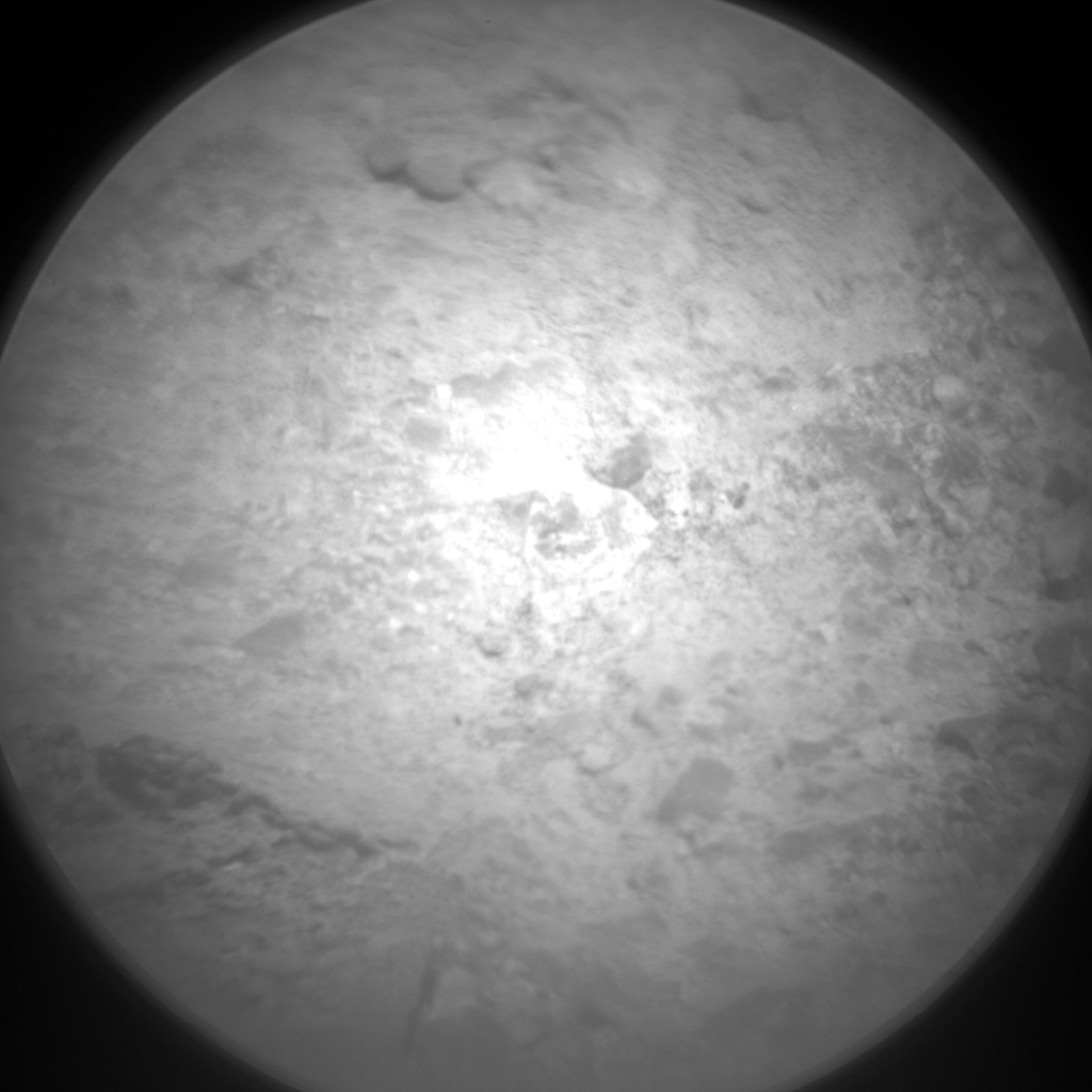 Nasa's Mars rover Curiosity acquired this image using its Chemistry & Camera (ChemCam) on Sol 655, at drive 416, site number 34