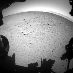 Nasa's Mars rover Curiosity acquired this image using its Front Hazard Avoidance Camera (Front Hazcam) on Sol 655, at drive 734, site number 34