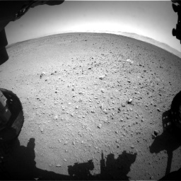 Nasa's Mars rover Curiosity acquired this image using its Front Hazard Avoidance Camera (Front Hazcam) on Sol 655, at drive 752, site number 34