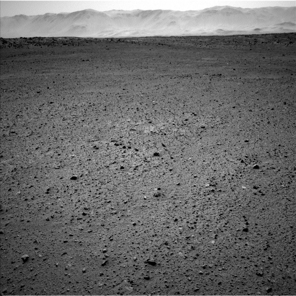 Nasa's Mars rover Curiosity acquired this image using its Left Navigation Camera on Sol 655, at drive 774, site number 34