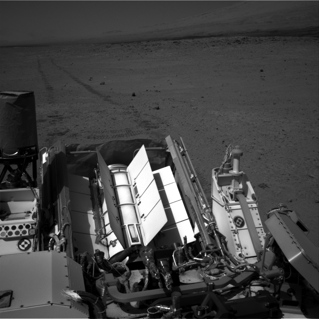 Nasa's Mars rover Curiosity acquired this image using its Right Navigation Camera on Sol 655, at drive 774, site number 34