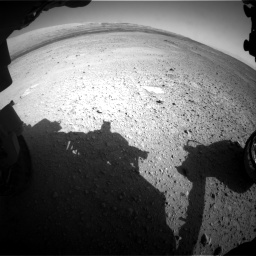 Nasa's Mars rover Curiosity acquired this image using its Front Hazard Avoidance Camera (Front Hazcam) on Sol 656, at drive 1050, site number 34