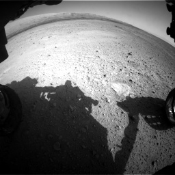 Nasa's Mars rover Curiosity acquired this image using its Front Hazard Avoidance Camera (Front Hazcam) on Sol 656, at drive 1062, site number 34