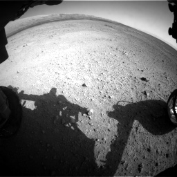 Nasa's Mars rover Curiosity acquired this image using its Front Hazard Avoidance Camera (Front Hazcam) on Sol 656, at drive 1080, site number 34