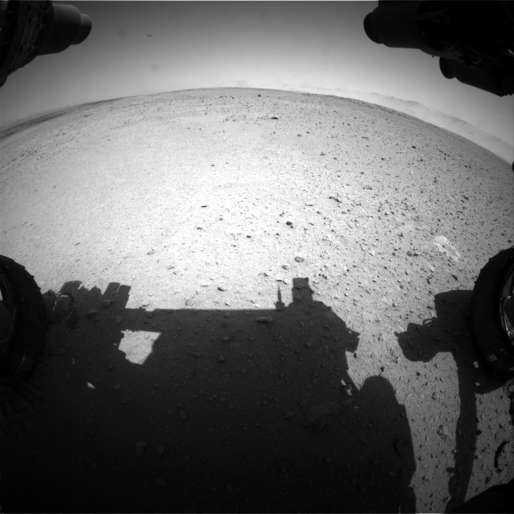 Nasa's Mars rover Curiosity acquired this image using its Front Hazard Avoidance Camera (Front Hazcam) on Sol 656, at drive 774, site number 34