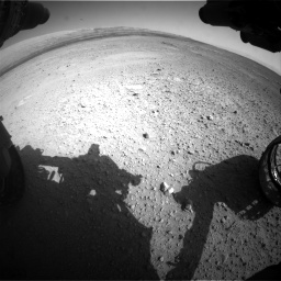 Nasa's Mars rover Curiosity acquired this image using its Front Hazard Avoidance Camera (Front Hazcam) on Sol 656, at drive 1044, site number 34