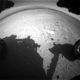 Nasa's Mars rover Curiosity acquired this image using its Front Hazard Avoidance Camera (Front Hazcam) on Sol 656, at drive 1056, site number 34
