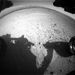 Nasa's Mars rover Curiosity acquired this image using its Front Hazard Avoidance Camera (Front Hazcam) on Sol 656, at drive 1068, site number 34