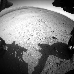 Nasa's Mars rover Curiosity acquired this image using its Front Hazard Avoidance Camera (Front Hazcam) on Sol 656, at drive 1086, site number 34