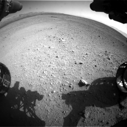 Nasa's Mars rover Curiosity acquired this image using its Front Hazard Avoidance Camera (Front Hazcam) on Sol 656, at drive 1098, site number 34