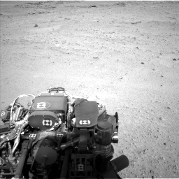 Nasa's Mars rover Curiosity acquired this image using its Left Navigation Camera on Sol 656, at drive 1044, site number 34