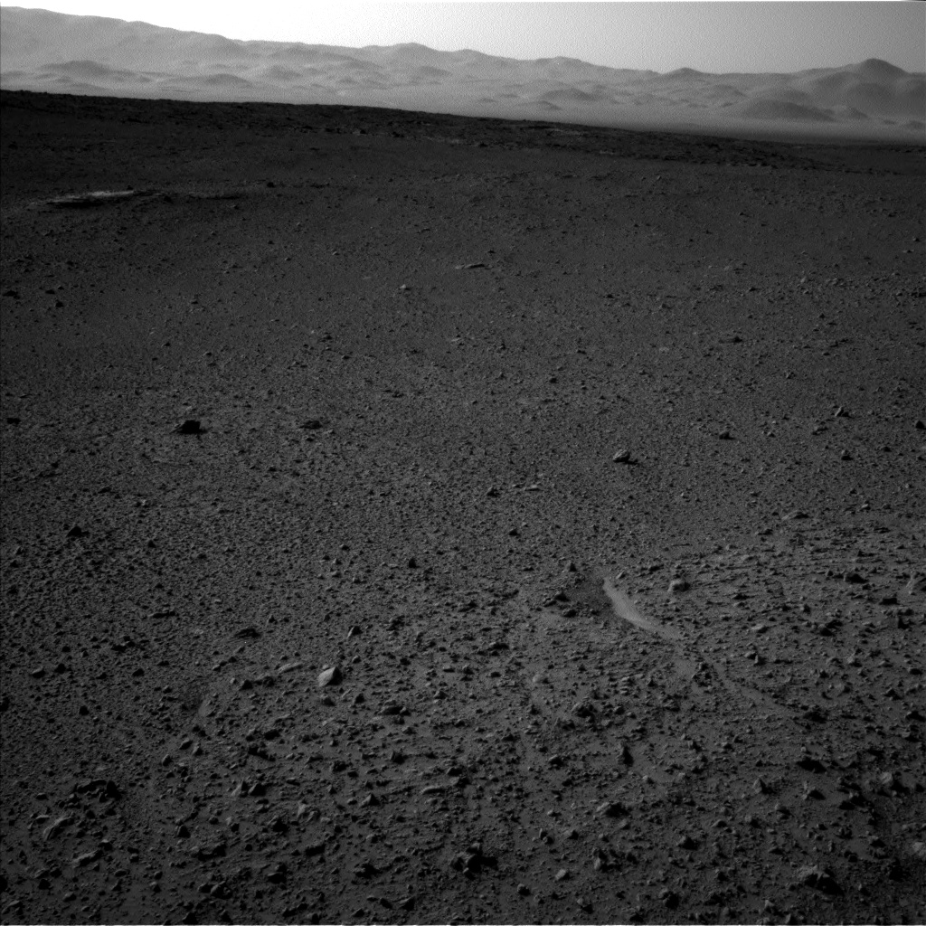 Nasa's Mars rover Curiosity acquired this image using its Left Navigation Camera on Sol 656, at drive 1120, site number 34