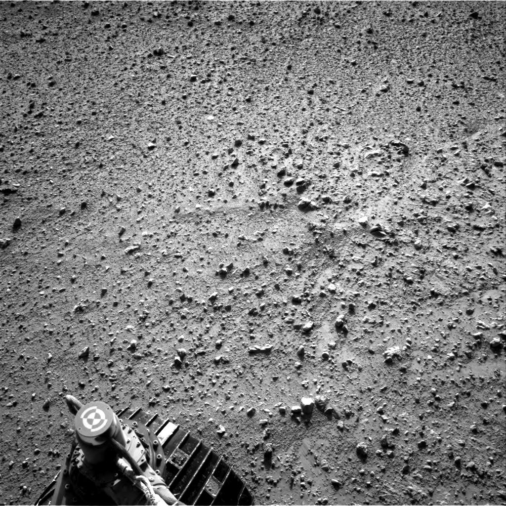Nasa's Mars rover Curiosity acquired this image using its Right Navigation Camera on Sol 656, at drive 1120, site number 34