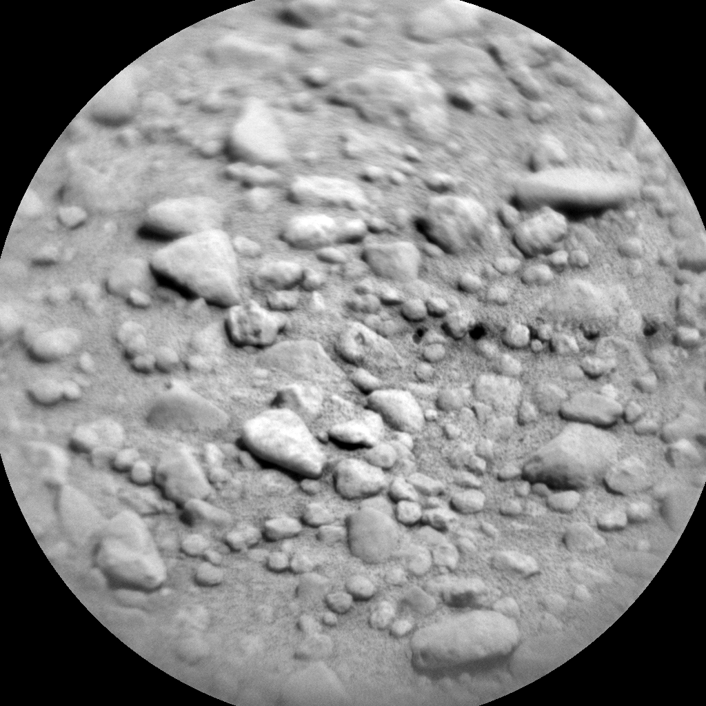 Nasa's Mars rover Curiosity acquired this image using its Chemistry & Camera (ChemCam) on Sol 656, at drive 774, site number 34