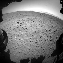 Nasa's Mars rover Curiosity acquired this image using its Front Hazard Avoidance Camera (Front Hazcam) on Sol 657, at drive 1504, site number 34