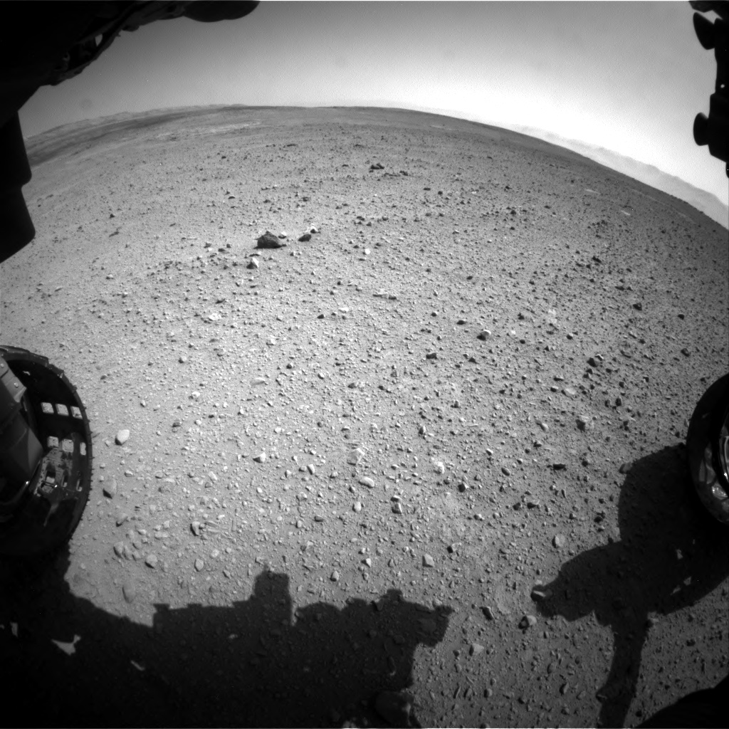 Nasa's Mars rover Curiosity acquired this image using its Front Hazard Avoidance Camera (Front Hazcam) on Sol 657, at drive 0, site number 35