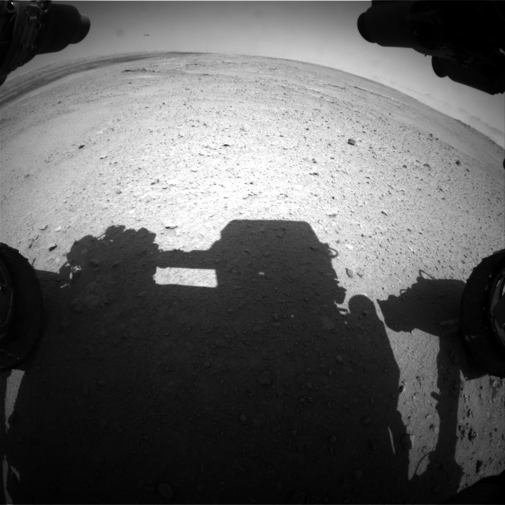 Nasa's Mars rover Curiosity acquired this image using its Front Hazard Avoidance Camera (Front Hazcam) on Sol 657, at drive 1120, site number 34