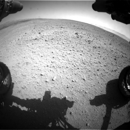Nasa's Mars rover Curiosity acquired this image using its Front Hazard Avoidance Camera (Front Hazcam) on Sol 657, at drive 1492, site number 34