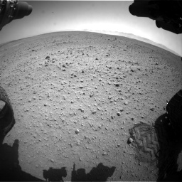 Nasa's Mars rover Curiosity acquired this image using its Front Hazard Avoidance Camera (Front Hazcam) on Sol 657, at drive 1498, site number 34