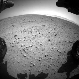 Nasa's Mars rover Curiosity acquired this image using its Front Hazard Avoidance Camera (Front Hazcam) on Sol 657, at drive 1510, site number 34