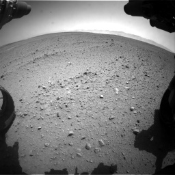 Nasa's Mars rover Curiosity acquired this image using its Front Hazard Avoidance Camera (Front Hazcam) on Sol 657, at drive 1522, site number 34