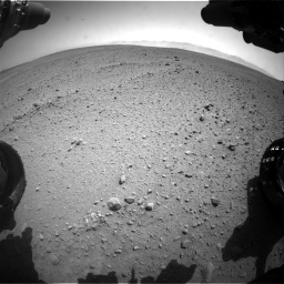 Nasa's Mars rover Curiosity acquired this image using its Front Hazard Avoidance Camera (Front Hazcam) on Sol 657, at drive 1534, site number 34
