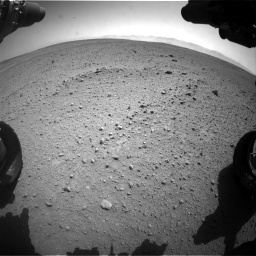 Nasa's Mars rover Curiosity acquired this image using its Front Hazard Avoidance Camera (Front Hazcam) on Sol 657, at drive 1558, site number 34