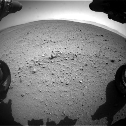 Nasa's Mars rover Curiosity acquired this image using its Front Hazard Avoidance Camera (Front Hazcam) on Sol 657, at drive 1576, site number 34