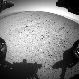 Nasa's Mars rover Curiosity acquired this image using its Front Hazard Avoidance Camera (Front Hazcam) on Sol 657, at drive 1612, site number 34