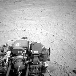 Nasa's Mars rover Curiosity acquired this image using its Left Navigation Camera on Sol 657, at drive 1612, site number 34