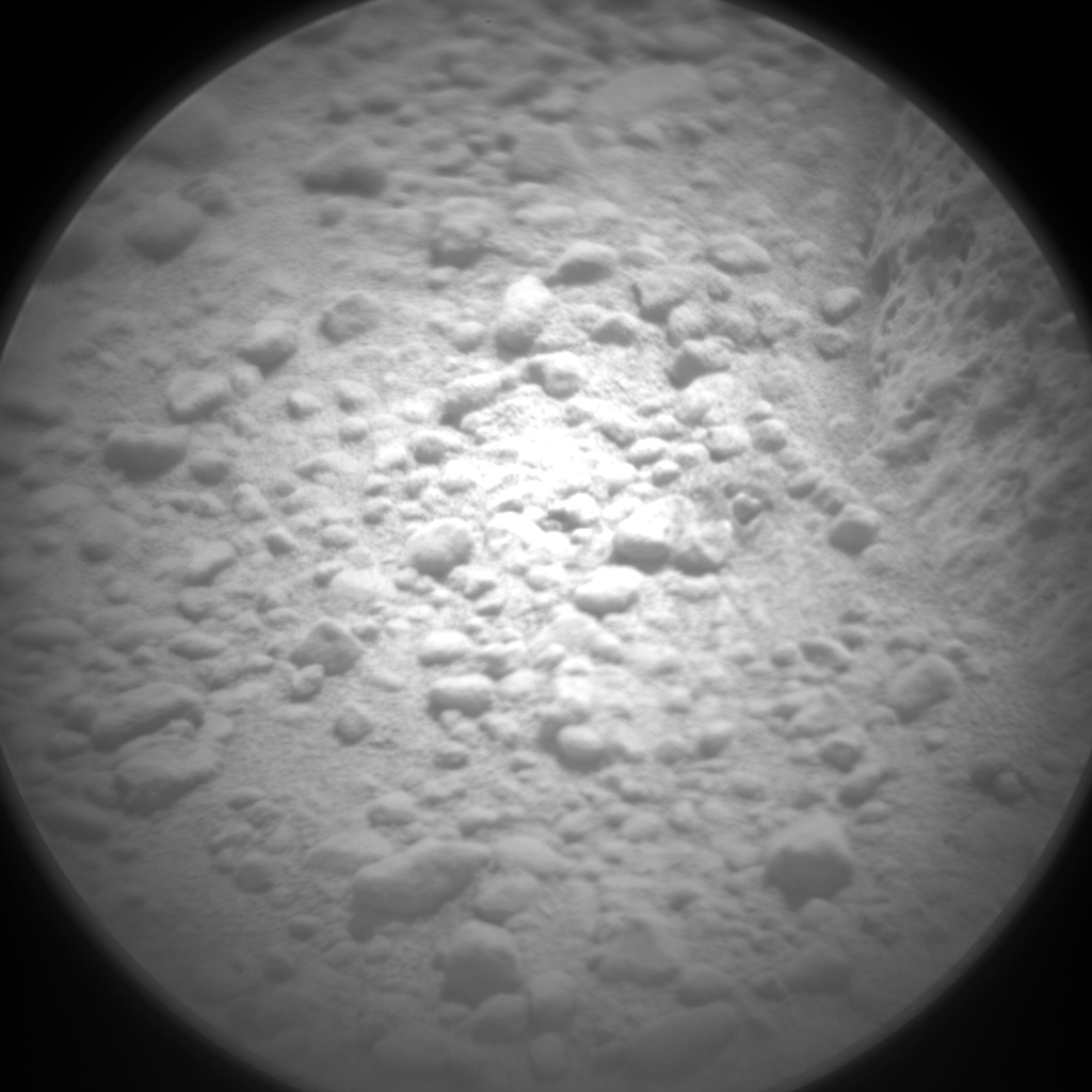 Nasa's Mars rover Curiosity acquired this image using its Chemistry & Camera (ChemCam) on Sol 658, at drive 0, site number 35