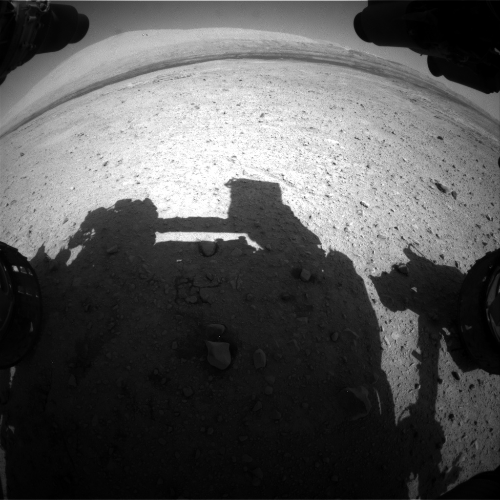 Nasa's Mars rover Curiosity acquired this image using its Front Hazard Avoidance Camera (Front Hazcam) on Sol 658, at drive 238, site number 35