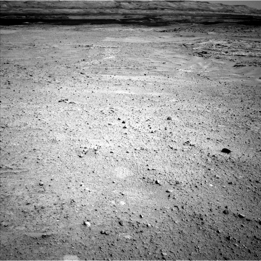 Nasa's Mars rover Curiosity acquired this image using its Left Navigation Camera on Sol 658, at drive 238, site number 35